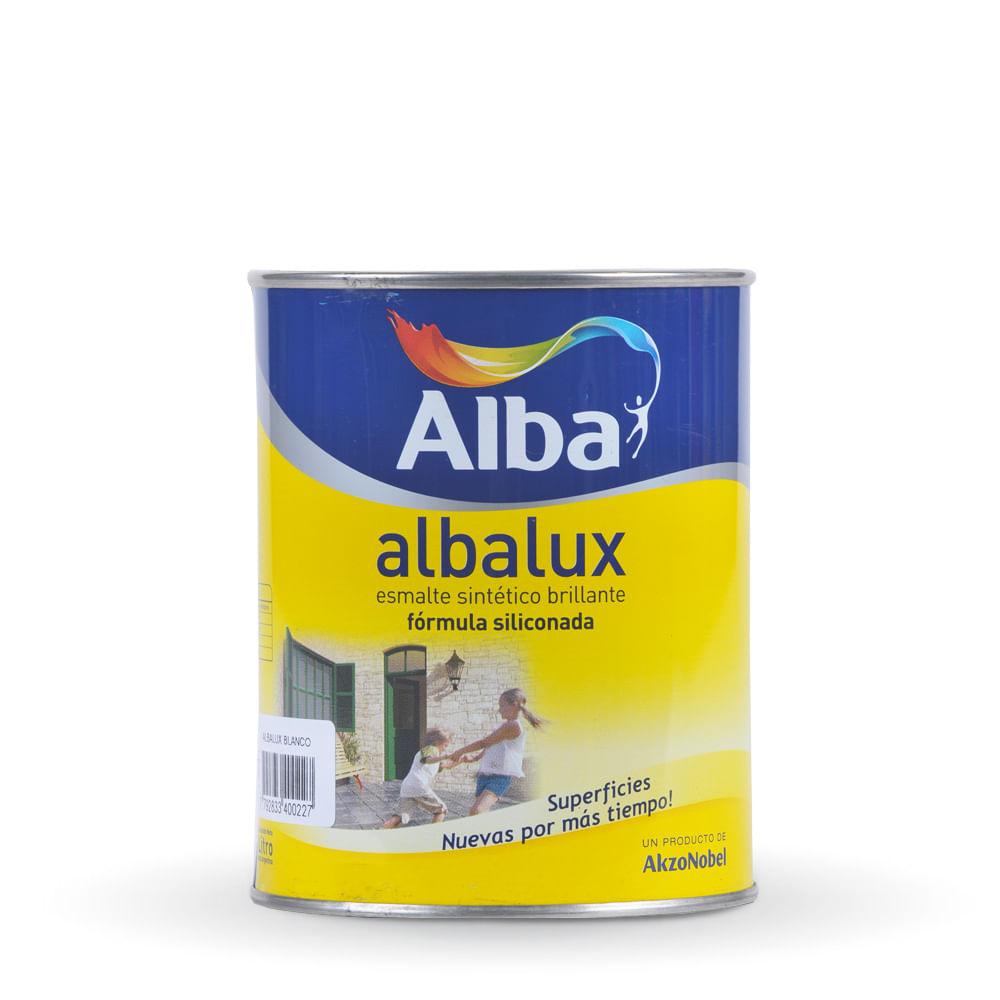 Albalux esmalte sint tico alba 1 lt prestigio prestigioweb - Pintura esmalte sintetico ...