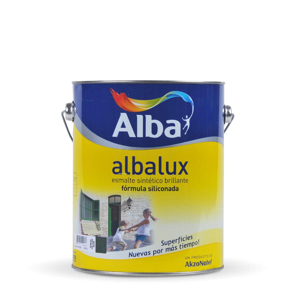 Albalux esmalte sint tico alba x 4 lts prestigio - Pintura esmalte sintetico ...