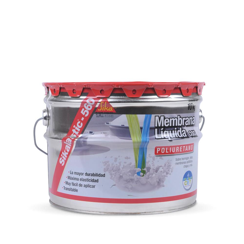 Sikalastic impermeabilizante para techos sika x 10 kg for Pintura impermeabilizante sika