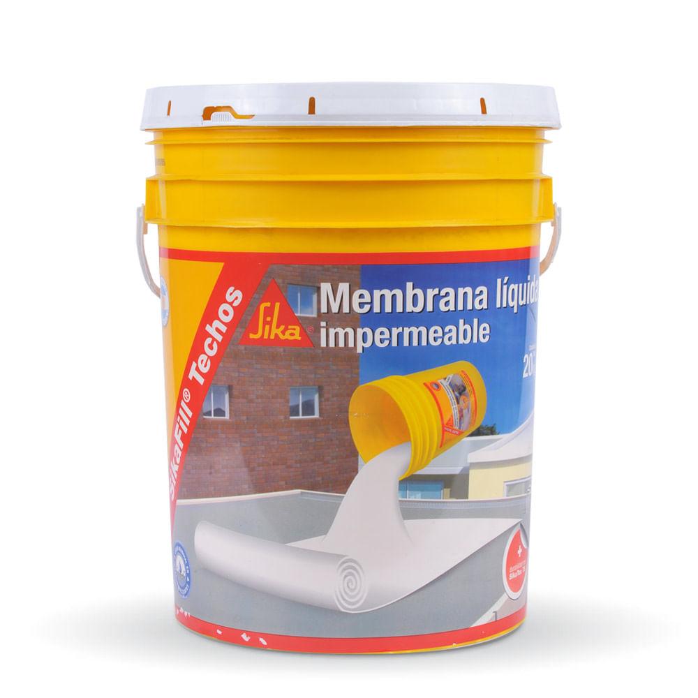 Sikafill impermeabilizante para techos sika prestigio - Impermeabilizante para paredes ...