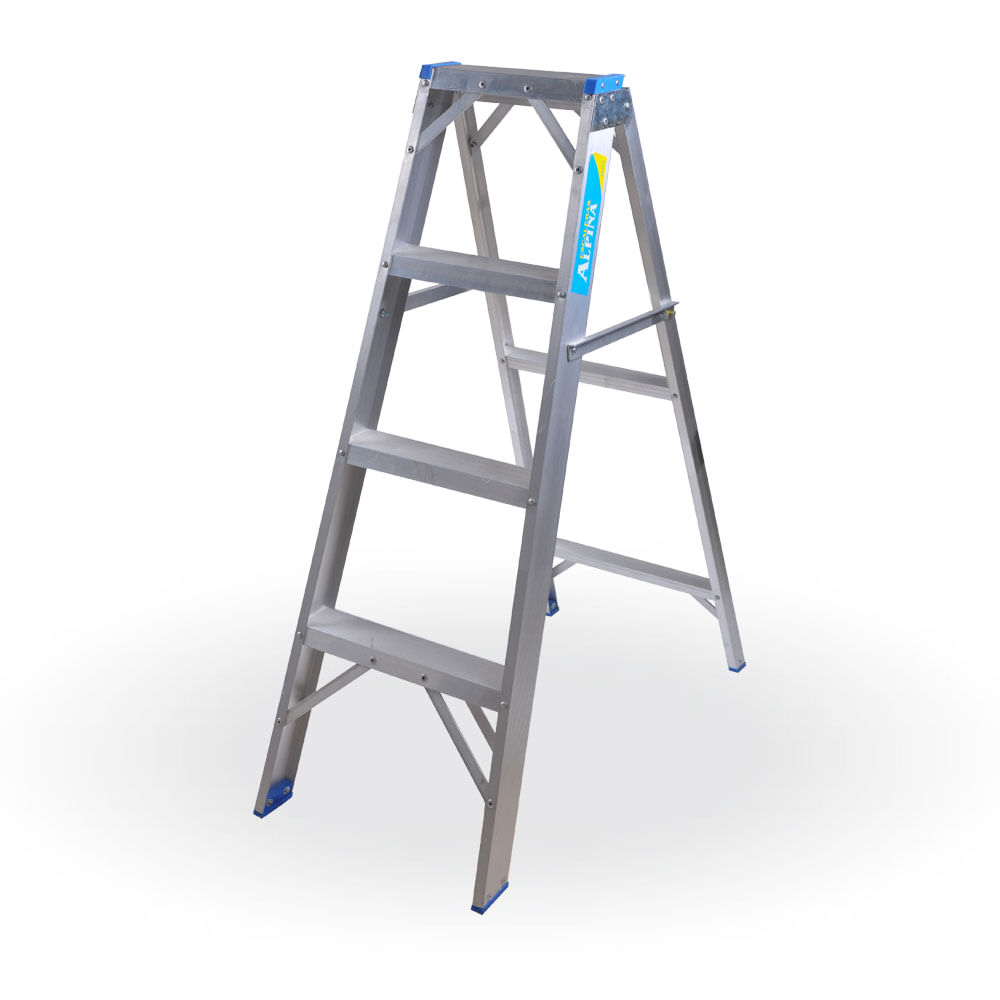 Escalera familiar de aluminio prestigio prestigioweb for Escaleras pintor precios