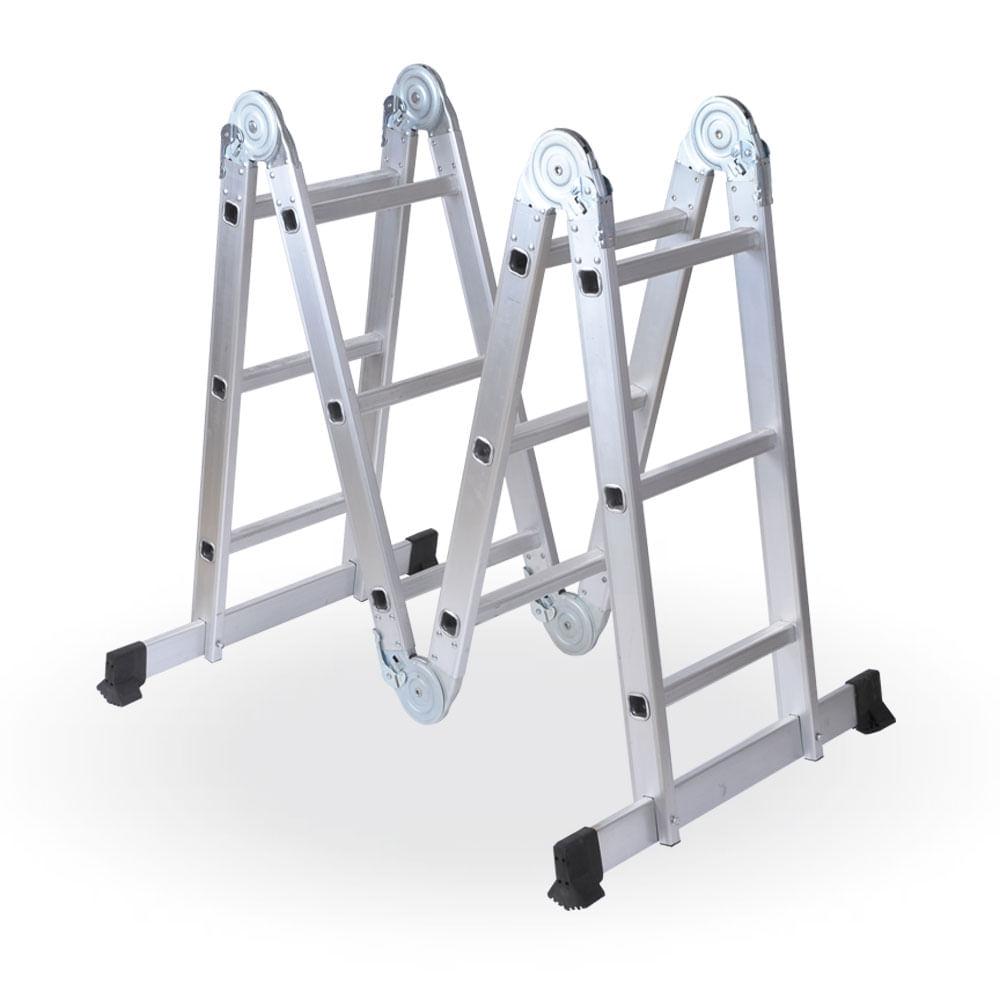 Escalera articulada de aluminio prestigio prestigioweb for Escalera aluminio plegable articulada precio