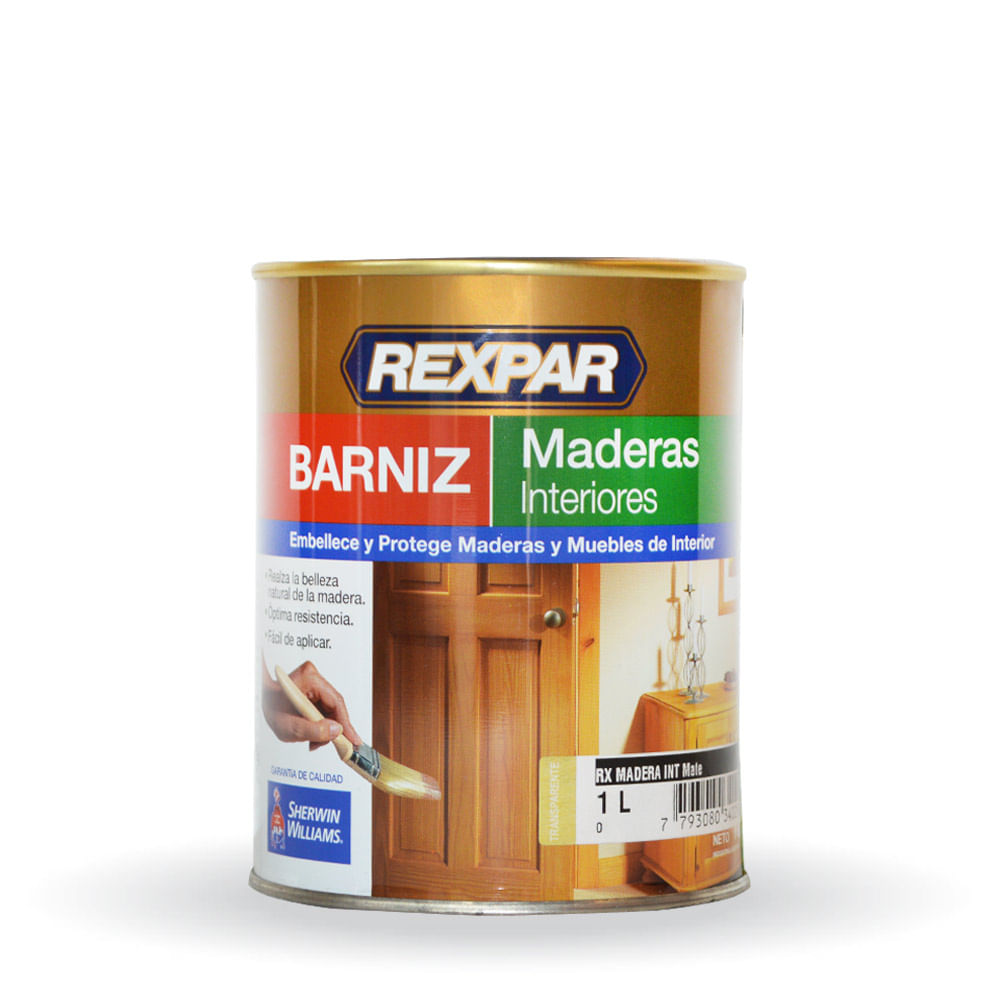 Rexpar barniz para maderas interiores sherwin williams 1 - Barniz para pintura ...