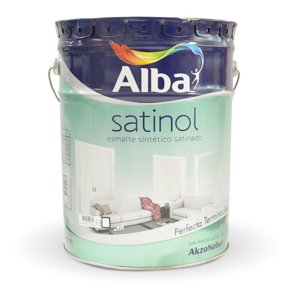 Satinol esmalte sint tico alba 20 lts prestigio - Pintura esmalte sintetico ...