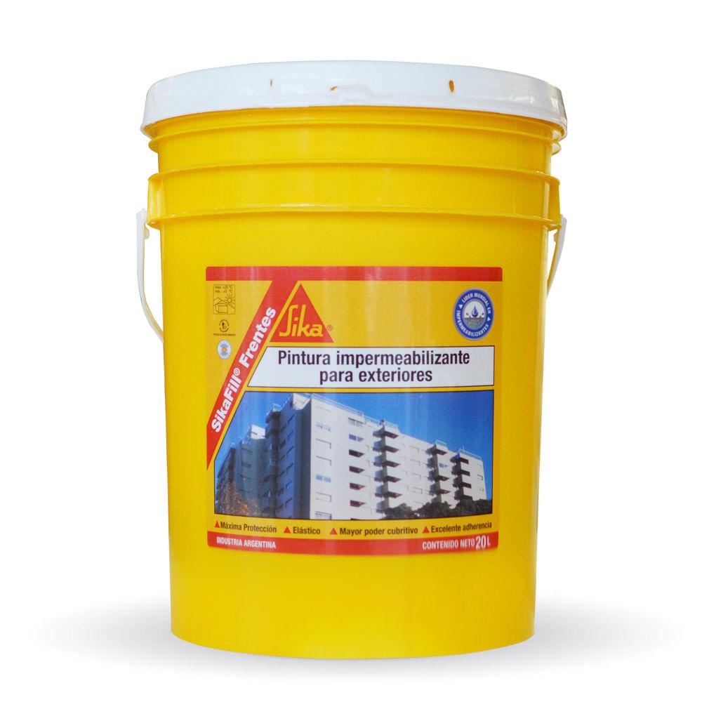 Sikafill frentes impermeabilizante exterior sika for Impermeabilizante para estanques de agua