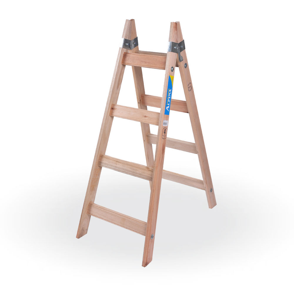 Escalera de pintor de madera prestigio prestigioweb - Escalera madera ...